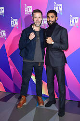 Paddy Considine and Anthony Welsh attending a screening of new film Journeyman, during the BFI London Film Festival, at the Picture House Cinema, London.