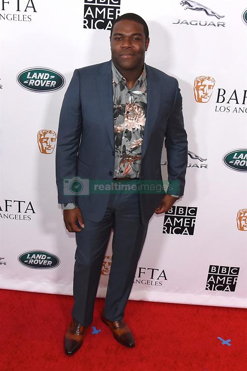 September 15, 2018 - Beverly Hills, California, USA - SAM RICHARDSON attends the 2018 BAFTA Los Angeles + BBC America TV Tea Party at the Beverly Hilton in Beverly Hills. (Credit Image: © Billy Bennight/ZUMA Wire)