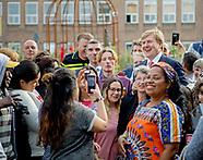 King Willem-Alexander visit Omnizorg-Apeldoorn, Apeldoorn