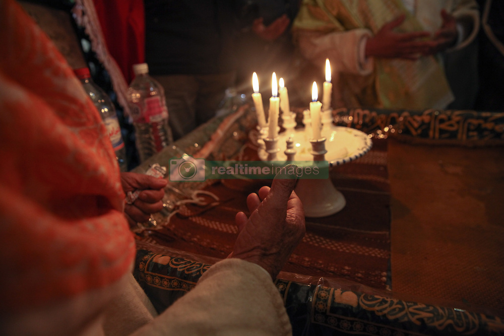 November 19, 2018 - Tunis, Tunisia - Tunisian Muslims celebrate the birthday of Prophet Muhammad 'Arabic: Mawlid al-Nabawi' in Ariana city in north- eastern Tunisia, on November 19, 2018.The Mawlid al-Nabawi is the observance of the birthday of the Islamic prophet Muhammad, which is commemorated in Rabi' al-awwal, the third month in the Islamic calender. (Credit Image: © Chedly Ben Ibrahim/NurPhoto via ZUMA Press)