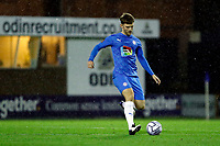Jamie Stott. Stockport County 3-1 Guiseley AFC. Buildbase FA Trophy. 19.12.20