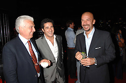 Left to right,    , LUCA DEL BONO and GIANLUCA VIALLI  at a party to celebrate the launch of the new Fiat Bravo held at The Roundhouse Theatre, Chalk Farm Road, London on 13th June 2007.<br /><br />NON EXCLUSIVE - WORLD RIGHTS