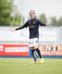 Falkirk's Mark Kerr. Falkirk 3 v 1 East Fife, Petrofac Training Cup played 25th July 2015 at The Falkirk Stadium.
