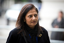 © London News Pictures. 01/07/2013. London, UK.  Nilam Hindocha, mother of  Anni Dewani, arriving at Westminster Magistrates Court in London to attend the extradition hearing of Shrien Dewani on July 1, 2013. Shrien Dewani, is accused of arranging the contract killing of wife Anni in Cape Town in November 2010. Photo credit : Ben Cawthra/LNP