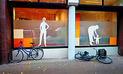 Street theater, how we live. The Hague, Netherlands 2014