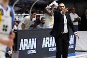 Coach Di carlo<br />Betaland Capo D'Orlando Vs EA7 Emporio Armani Olimpia Milano<br />Playoff Gara 4<br />LegaBasket 2016/2017<br />Capo d'Orlando 18/05/2017<br />Foto Ciamillo-Castoria