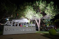 Umag's tennis stadium renamed after Goran Ivanisevic, on July 16, 2016 in Umag, Croatia. Photo by Urban Urbanc / Sportida