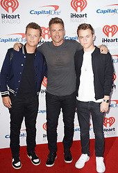 September 22, 2017 - Las Vegas, Nevada, United States of America - Matthew Lowe, Rob Lowe  and john Lowe  attend the  2017 iHeart Radio Music Festival Day 1 on  September22, 2017  at the T-Mobile Arena in Las Vegas, Nevada (Credit Image: © Marcel Thomas via ZUMA Wire)