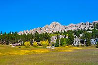 Outlaw Ranch, near Custer (Black Hills), South Dakota USA