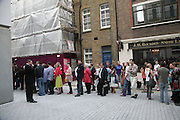 Beyond Belief-Damien Hirst. White Cube Hoxton and Mason's Yard.Party  afterwards at the Dorchester. Park Lane. 2 June 2007.  -DO NOT ARCHIVE-© Copyright Photograph by Dafydd Jones. 248 Clapham Rd. London SW9 0PZ. Tel 0207 820 0771. www.dafjones.com.