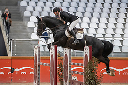 Everaert Sander, BEL, Ascot van de Helle<br /> Pavo Hengsten competitie - Oudsbergen 2021<br /> © Hippo Foto - Dirk Caremans<br />  22/02/2021