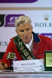 Fellers Rich (USA) <br /> Rolex FEI World Cup™ Jumping Final 2012<br /> 'S Hertogenbosch 2012<br /> © Dirk Caremans