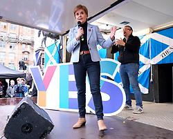 Independence Rally, Glasgow, Saturday 2nd November 2019<br /> <br /> Pictured: Nicola Sturgeon<br /> <br /> Alex Todd | Edinburgh Elite media