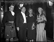 04/01/1956<br /> 01/04/1956<br /> 04 January 1956<br /> Reception by German Minister to Ireland Dr. Hermann Katzenberger for the Irish-German Society at the Gresham Hotel, Dublin. Ambassador 2nd from left.