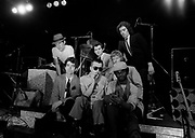 Chas Jankell with Ian Dury and the Blockheads London 1979