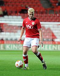 George Dowling of Bristol City - Mandatory by-line: Paul Knight/JMP - Mobile: 07966 386802 - 12/10/2015 -  FOOTBALL - Ashton Gate Stadium - Bristol, England -  Bristol City U21 v Sheffield Wednesday U21 - Professional Development League