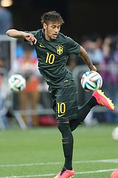 Neymar Jr. no treino da Seleção Brasileira, em São Paulo, SP. A seleção enfrenta a Croácia na abertura da Copa do Mundo 2014. FOTO: Jefferson Bernardes/ Agência Preview