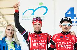 MUGERLI Matej (SLO) of BMC Amplatz and BAJC Andi (SLO) of BMC Amplatz during the UCI Class 1.2 professional race 4th Grand Prix Izola, on February 26, 2017 in Izola / Isola, Slovenia. Photo by Vid Ponikvar / Sportida
