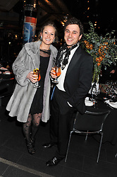 LADY MELISSA PERCY and THOMAS VAN STRAUBENZEE at the Wild for WSPA dinner in aid of the charity World Society for the Protection of Animals held at Under The Bridge, Stamford Bridge, Fulham Road, London on 23rd February 2012.