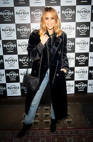 Rachel Stevens at the Hard Rock Cafe celebrity-studded Christmas party for children's charity Fight For Life LONDON, 2 December 2019