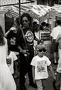 Don Letts and Felix at the 1991 carnival