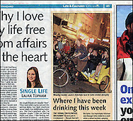 Rickshaw, Soho / Evening Standard / 2008