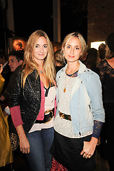 Left to right, sisters PRINCESS MARIA THURN & TAXIS and PRINCESS ELISABETH THURN & TAXIS at the Launch of Peroni Nastro Azzurro Accademia del Film Wrap Party Tour held atThe Boiler House, 152 Brick Lane, London E1 on 25th August 2010.