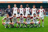 Fotball <br /> FIFA World Youth Championships 2005<br /> Emmen<br /> Nederland / Holland<br /> 12.06.2005<br /> Foto: ProShots/Digitalsport<br /> <br /> Sør-Korea v Sveits<br /> <br /> Sveits