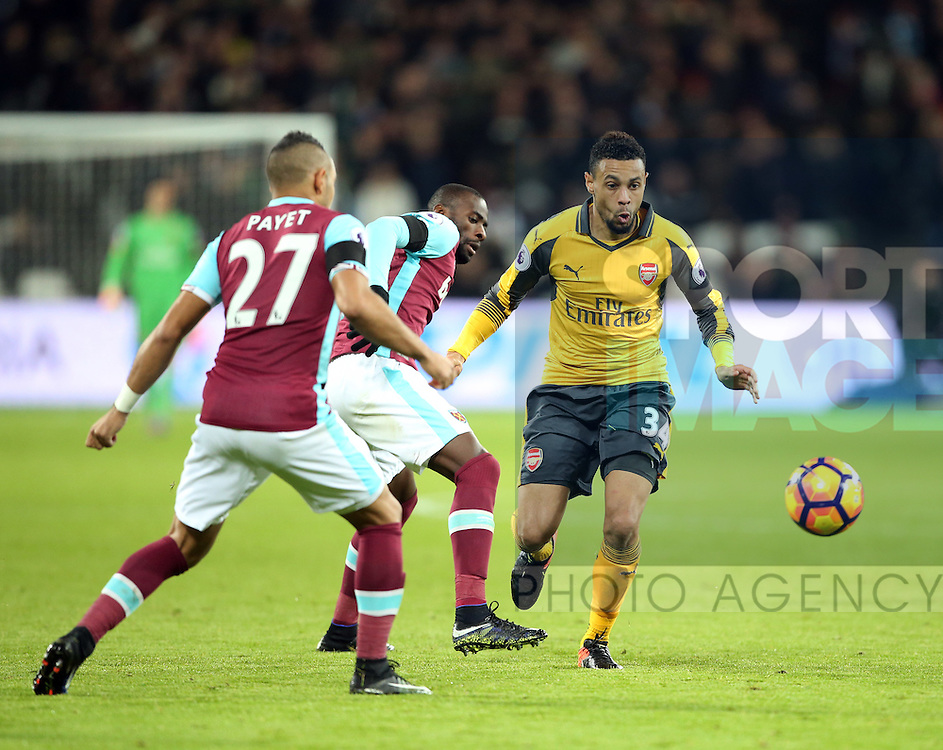 Arsenal's Francis Coquelin in action during the Premier League match at the London Stadium, London. Picture date December 3rd, 2016 Pic David Klein/Sportimage