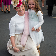 09.10.2016           <br /> Attend the Keanes Jewellers Best dressed competition at Limerick Racecourse were, Jenny O'Farrell and Caoimhe Weston. Picture: Alan Place