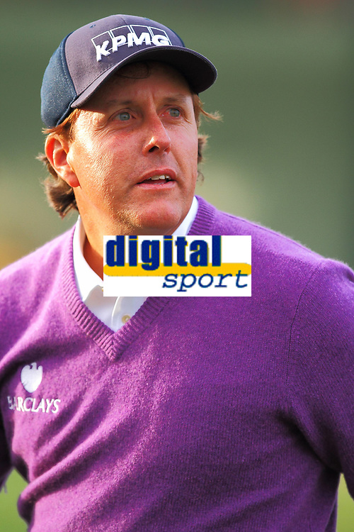Golf<br /> Foto: imago/Digitalsport<br /> NORWAY ONLY<br /> <br /> January 31, 2014: Phil Mickelson (Rancho Santa Fe, CA) during second round action of the Waste Management Phoenix Open at the TPC Stadium golf course in Scottsdale Arizona.