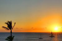 Sunset in Kāʻanapali, Maui