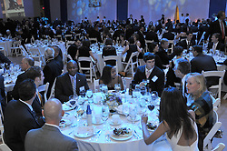 Yale University Department of Athletics Blue Leadership Ball 2009. Folks at The Lanman Center before Presentation of Awards to Blue Leader Honorees and Speeches.