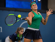 Aryna Sabalenka of Belarus in action during her third-round match at the 2018 Western and Southern Open WTA Premier 5 tennis tournament, Cincinnati, Ohio, USA, on August 16th 2018 - Photo Rob Prange / SpainProSportsImages / DPPI / ProSportsImages / DPPI