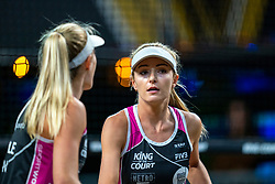 Megan McNamara CAN in action during the first day of the beach volleyball event King of the Court at Jaarbeursplein on September 9, 2020 in Utrecht.