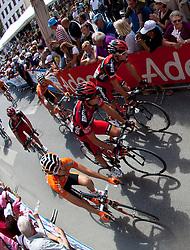 21.05.2011, Hauptplatz Lienz, AUT, Giro d´ Italia 2011, 14. Etappe, Lienz - Monte Zoncolan, im Bild // during the Giro d´ Italia 2011, Stage 14, Lienz - Monte Zoncolan,Austria, 2011-05-21, EXPA Pictures © 2011, PhotoCredit: EXPA/ J. Feichter