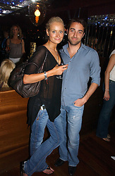KALITA AL-SWAIDI  and ARIS PISSIOTIS at a party hosted by Allegra Hicks and Melissa Del Bono to celebrate the opening of Volstead, Swallow Street, London W1 on 4th May 2006.<br /><br />NON EXCLUSIVE - WORLD RIGHTS