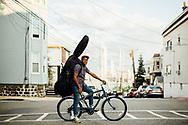 New York based Cuban Bass player, Weehawken, 2018