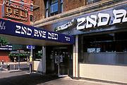 Original 2nd Avenue Deli location which closed in 2006, East Village, Manhattan, New York