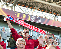 Norway - France. WEURO 2009. Helsinki 30.8.2009. Photo: Jussi Eskola. FINLAND OUT.