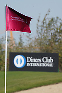 Flag on on the 18th green during the first round of the Commercial Bank Qatar Masters 2020, Education City Golf Club , Doha, Qatar. 05/03/2020<br /> Picture: Golffile   Phil Inglis<br /> <br /> <br /> All photo usage must carry mandatory copyright credit (© Golffile   Phil Inglis)