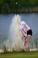 28-05-2016 Foto's van de kruisfinales in de hoofdklasse van de NGF Competitie 2016.<br /> Foto: Tessa de Bruijn - Dames Noordwijkse 1. Genomen tijdens Finaleweekend NGF Hoofdklasse 2016 bij Goyer Golf & Country Club in Eemnes, Nederland.