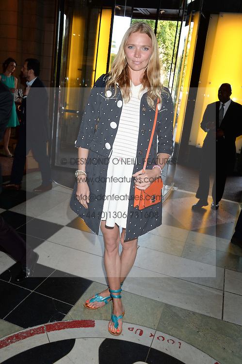 JODIE KIDD at the opening of Club To Catwalk: London Fashion In The 1980's an exhibition at The V&A Museum, London on 8th July 2013.