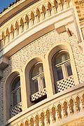 Architectural detail in Casablanca, Morocco