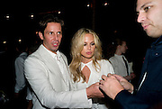 MARTIN KREDIET; RACHEL ZOE, The Launch of Visionaire 55 Surprise in collaboration with Krug. Raleigh Hotel. Art Basel Miami Beach. 4 December 2008 *** Local Caption *** -DO NOT ARCHIVE -Copyright Photograph by Dafydd Jones. 248 Clapham Rd. London SW9 0PZ. Tel 0207 820 0771. www.dafjones.com