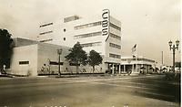1936 CBS Radio on Sunset Blvd.