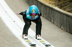 Lidiia Iakovleva of Russia competes during Team Competition at Day 2 of World Cup Ski Jumping Ladies Ljubno 2019, on February 9, 2019 in Ljubno ob Savinji, Slovenia. Photo by Matic Ritonja / Sportida