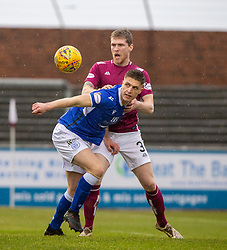 Arbroath 2 v 0 Queen of the South, Scottish Championship game played 15/2/2020 at Arbroath's home ground, Gayfield Park.