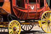 Stagecoach detail, Tombstone, Arizona USA