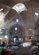Stunning photographs reveal the beautiful ceilings in Iran's mosques, bazaars and public baths<br /> <br /> For the past few decades, restrictions on travel to Iran has meant the country has been largely shut off from the Western world, butas visa sanctions are lifted in the light of a landmark nuclear deal, the local tourism industry is hoping for a flurry of visitors.<br /> It's not hard to see why Iran is listed as one of the top travel destinations of 2016, with its rich culture and history.<br /> Among the standout aspects of the nation is its beautiful ancient architecture, with the cities and towns littered withornate and eye-catching mosques, public baths and markets.<br /> And unlike many other countries - the roof is not an afterthought, with many ceilings built as the centrepiece to the building, with many of the tile designs showcasing a display of intricate geometric patternsthatdate back several centuries.<br /> French photographerEric Lafforgue has travelled the country photographing the ceilings of indoor markets, mosques and bath houses.<br /> <br /> Photo shows: The Old Bazaar in Tabriz was on the Silk Road and is one of Iran's Unesco World Heritage Sites